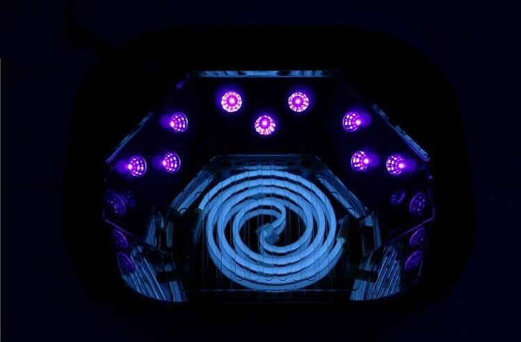 48w led UV ნათურა ფრჩხილის - ფრჩხილის ხელოვნება - ფოტო 3