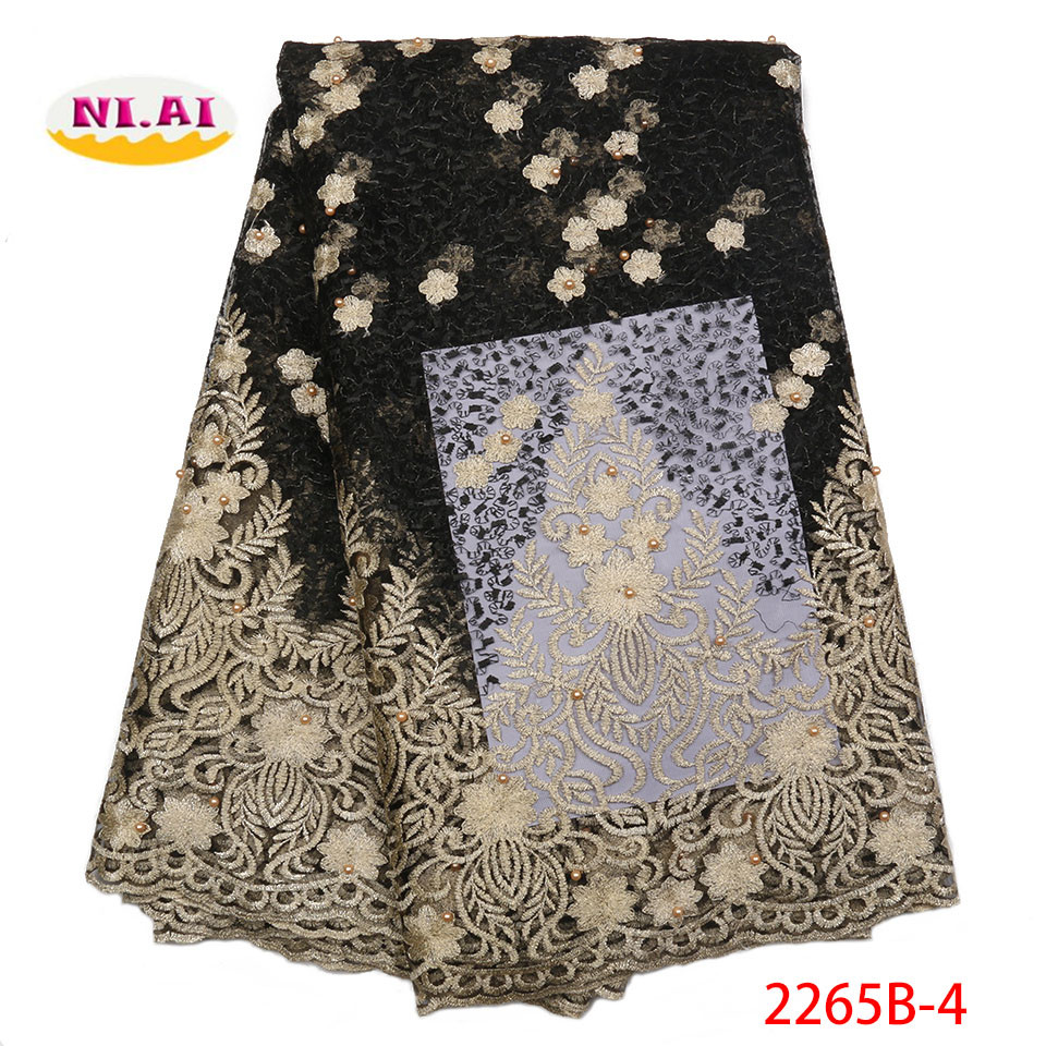 New Design African Lace Fabrics 2018 High Quality Lace French Lace Fabric For Party Dress Nigerian
