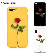 Rose Flower Phone Case For Apple iPhone