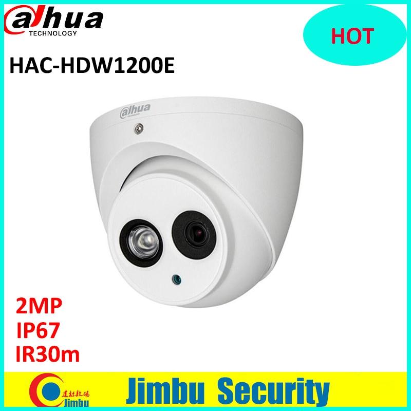 все цены на Original DAHUA HDCVI 2MP DOME Camera DH-HAC-HDW1200E 1/2.7 CMOS 1080P IR 40M cctv security camera waterproof IP66 HAC-HDW1200E