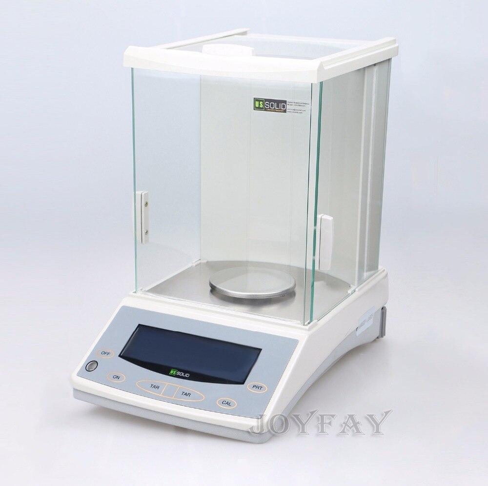 U S Solid 120 x 0 0001 g 0 1mg Lab Analytical Balance Digital Precision Balance