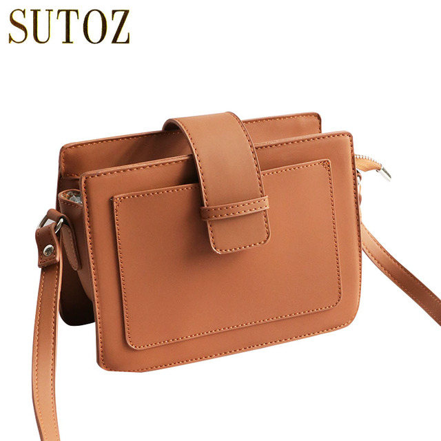 Retro Pu Leather Handbags For S Chic Small Flaps Messengers Women Belt Shoulder Bags Lady