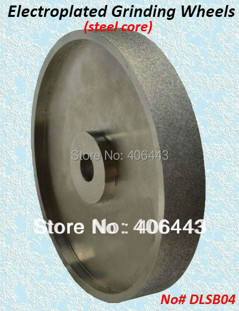 8 Electroplated Parallel Grinding Wheels for Lapidary Gemstone and Glass, with diamond grits# 46 / 60 / 80 / 120 v groove electroplated diamond grinding wheel for tungsten carbide stone agate megmatic material grinding e014