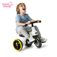 Infant Shining Baby Bike Toy Children Tricycle Balance Bike Kids Scooter 1 6Y Baby Walker Quality 3Wheels Bikes Gift for Kid