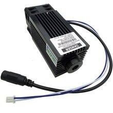 Ad alta Potenza 10W Modulo di Diodi Laser Blu Incisore Testa 450nm 10000mw TTL di Taglio Macchina Per Incidere di CNC Cutter