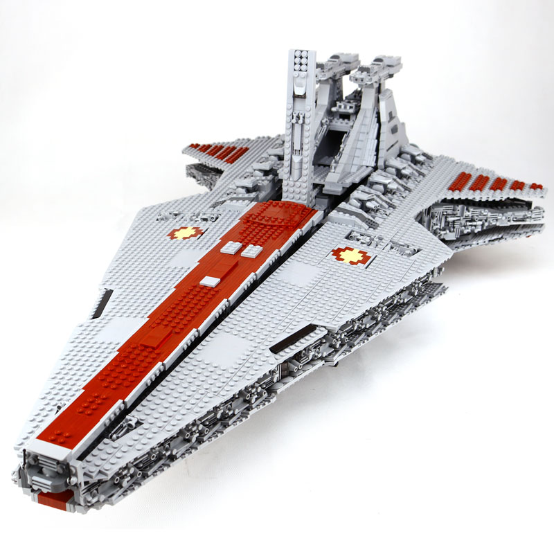 Lepin 6125 STuCKE Star Classic Modell Wars Die Ucs ST04 Republic Cruiser Educational Building Blocks Bricks Spielzeug Mode lepin 06058 ninja serie die tempel der ultimative ultimative waffe modell bausteine set kompatibel 70617 spielzeug fur kinder
