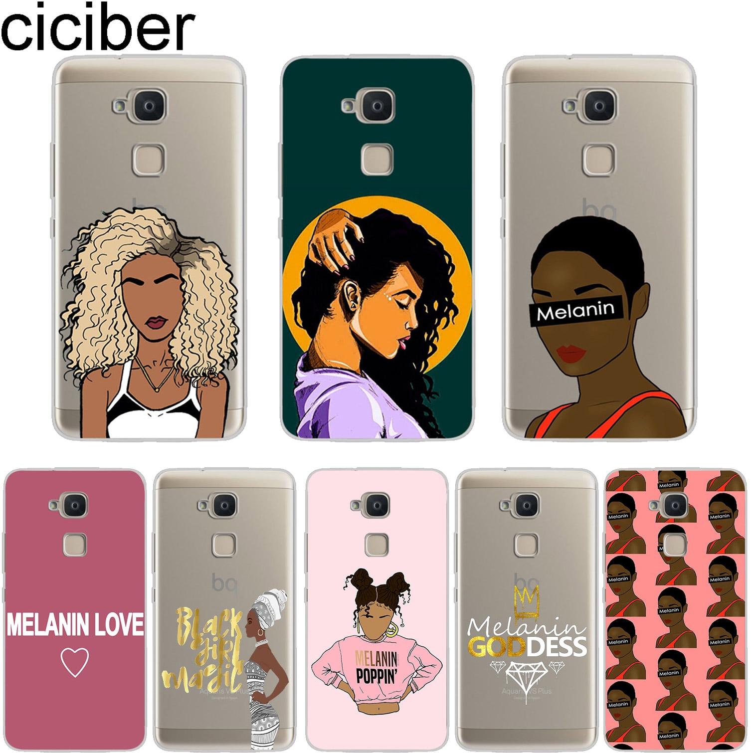 Fitted Cases Efficient Ciciber Phone Case For Bq Aquaris X2 X Pro V Vs U U2 Lite Plus Cover For Aquaris E5s 4.5 M5 M5.5 M4.5 X5 Soft Tpu Melanin Poppin Cellphones & Telecommunications