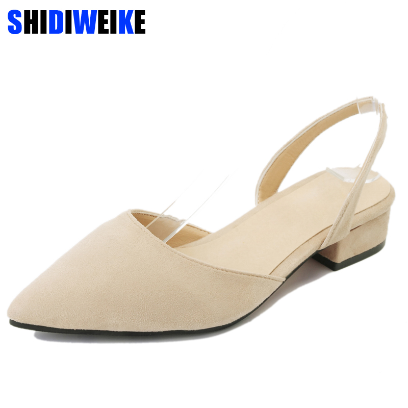 new women sandals flats slingback sandals shoes for women pointy shallow suede sandals 2019 summer buckle slip on flat shoesnew women sandals flats slingback sandals shoes for women pointy shallow suede sandals 2019 summer buckle slip on flat shoes