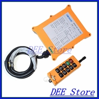 2 Speed 1 Transmitters 8 Channels Hoist Crane Truck Radio Remote Control System Controller