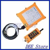 2 Speed 1 Transmitters 8 Channels Hoist Crane Truck Radio Remote Control System Controller