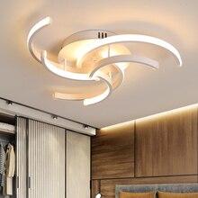 חדר שינה סלון תקרת אורות LED מנורת זוהר מודרני דה plafond moderne מודרני LED תקרת מנורת חדר שינה