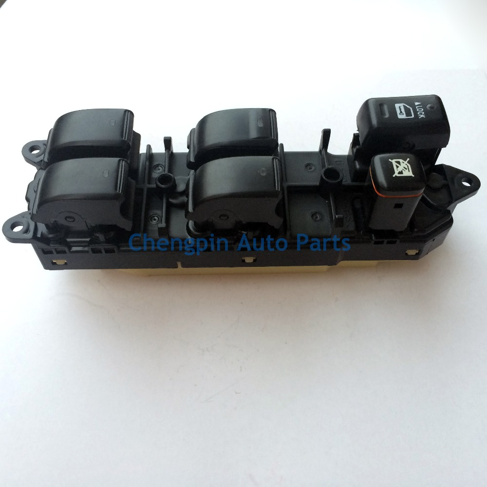 Original Window Lifter Control Switch OEM# 84040-60051,84040-0P010 MASTER SWITCH ASSY For TOYOTA LAND CRUISER PRADO LEXUS LX470 7pcs oem chrome headlight master window