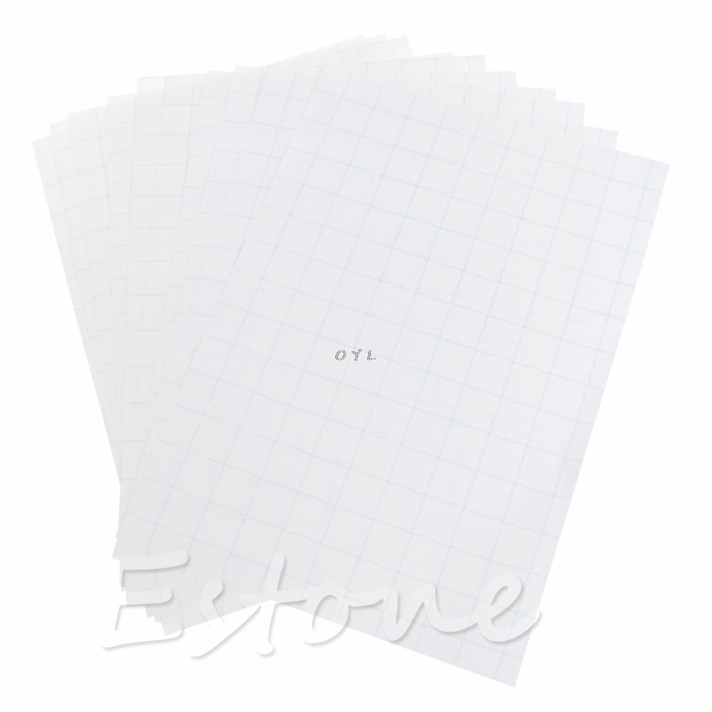 10 Sheets A4 Iron On Inkjet Print Heat Transfer Paper for DIY Craft T-shirt New10 Sheets A4 Iron On Inkjet Print Heat Transfer Paper for DIY Craft T-shirt New