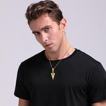 Arrowhead Pendant Necklace for Men