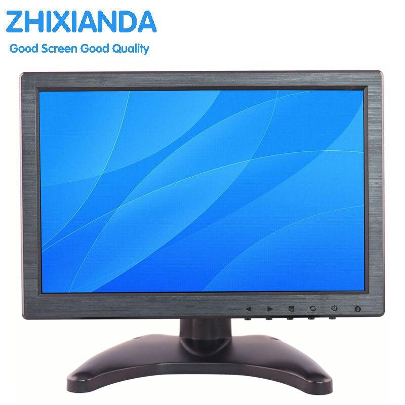 10.1 дюймов 16:10 ЖК-дисплей монитор IPS экран монитора <font><b>HD</b></font> монитор с AV/BNC/VGA/HDMI /USB интерфейс