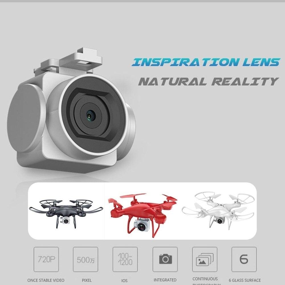 S28 RC Drone avec Caméra 1080 p HD 2.4g Selfie Quadcopter Aéronefs Wifi FPV Maintien D'altitude Sans Tête 3D Flip 18 min Long Vol - 5