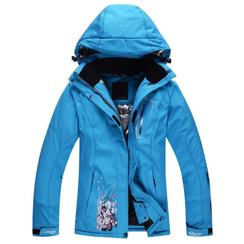 Professional Warm Ski Jacket Waterproof Windproof Outdoor