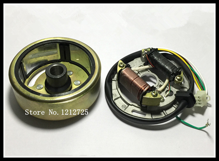 Two-stroke Motorcycle AX100 Magneto Stator Rotor Assembly AX 100 Generator Stator Rotor
