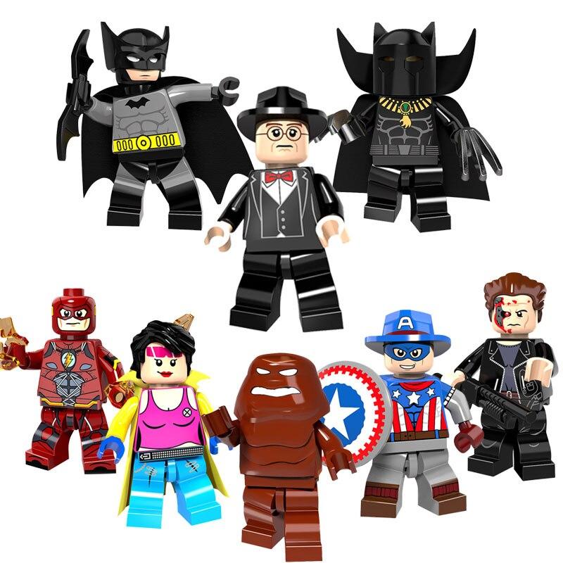 American Cartoon Heroes Set de 3 Pcs Jouets Cadeau
