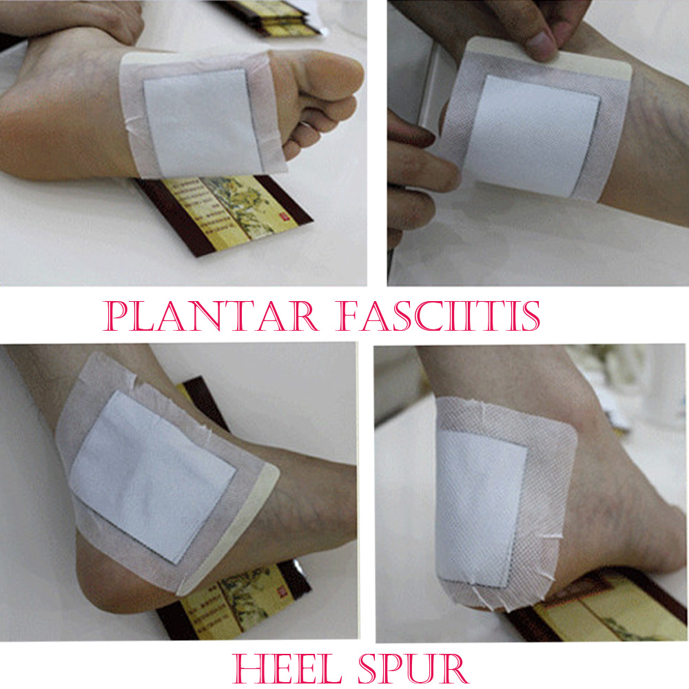 12Pcs Heel Spur Pain Relief Patch Herbal Calcaneal Spur Rapid Heel Pain Relief Patch Achilles Tendinitis Plaster Massage Z32412