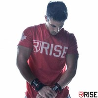 Muscle aesthetics Red Black Men T shirt Short Sleeves White gray black Undershirt Male Solid Cotton Mens Tee Summer Jersey Brand
