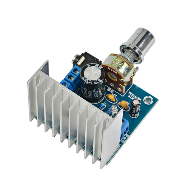 AIYIMA 1Pc 2.0 Stereo Amplificador TDA7297 Amplifiers Audio Dual Channel 15W+15W Amplifier Board DIY For Home Theater