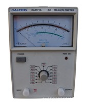 Yangzhong Caltek CA2171A single channel input AC pointer voltmeter 100uV 300V, frequency range is 10Hz 2MHz