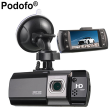 Podofo Novatek 96650 Coches Cámara Dashcam DVR AT500 Hd 1080 P Grabador de Vídeo Registrator g-sensor de Visión Nocturna Dash Cam(China)