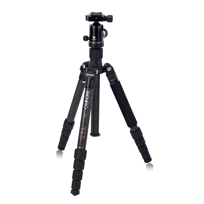 Benro C2692TV2 Professional Carbon Fiber Tripod For Camera Flexible Monopod V2 Tripod Ball head 5 Joins  Free Shipping ashanks carbon fiber camera monopod 705b professional 34 2mm foot tube diameter with monopod head free shipping