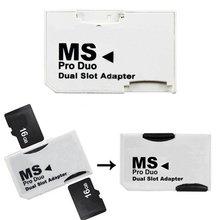 5 шт. Высокое качество двойной слот 2 32 ГБ Micro для SD SDHC TF для Memory Stick MS карты PRO Duo Адаптер для Оборудование для PSP игр для хранения