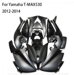 Kits de carénage complet de couverture de moto TMAX pour Yamaha TMAX 530 2015-2016 ABS moulage par Injection corps travail Nardo gris titane foncé