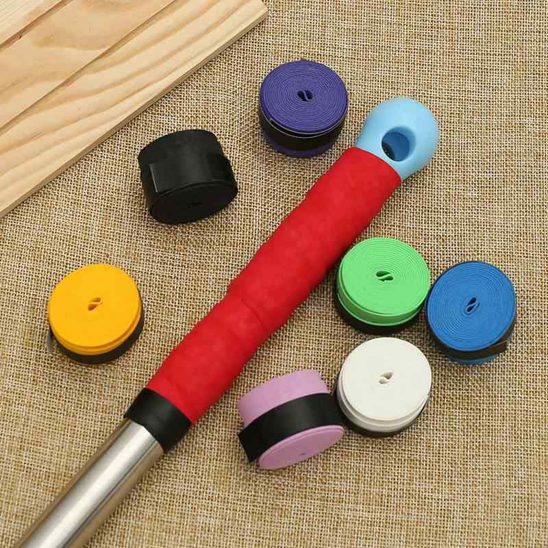 Dry Tennis Racket Anti-skid Sweat Absorbed Wraps Taps Badminton Grips Racquet Vibration Overgrip Sweatband Hot Sports