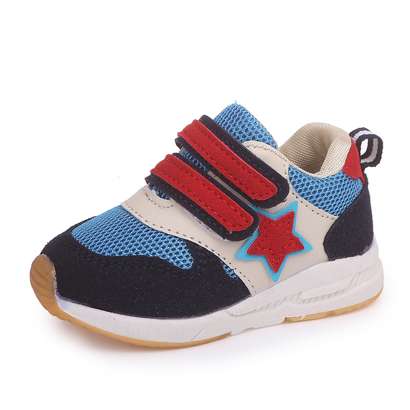 European Hot sales Spring/Autumn cool shoes baby Hook&Loop fashion soft sneakers baby high quality girls boys shoes toddlers