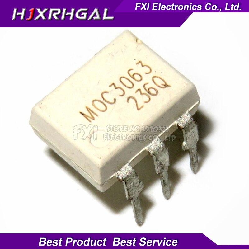 10PCS MOC3063 DIP6 DIP Photocoupler New Original