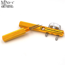 MNFT 1 PCS Full Metal Fishing Hook Knotting Tool & Tie Hook Loop Making Device & Hooks Decoupling remover Carp Fishing Accessory
