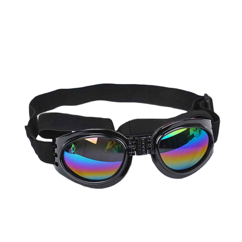 Super Cool Pet Accessories Foldable Dog UV Protective Sunglasses Goggles Lenses with Adjustable Strap Glasses