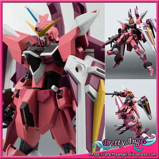 Japan Anime Original Bandai Tamashii Nations Robot Spirits No.185 Mobile Suit Gundam SEED <font><b>Action</b></font> <font><b>Figure</b></font> - Justice Gundam