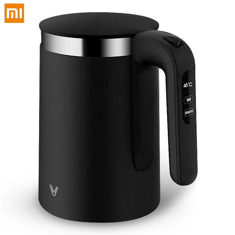 Xiaomi VIOMI Stainless Steel Electric Kettle Real-time Temperature Display Fast Heating Electric Pot 1.5LXiaomi VIOMI Stainless Steel Electric Kettle Real-time Temperature Display Fast Heating Electric Pot 1.5L