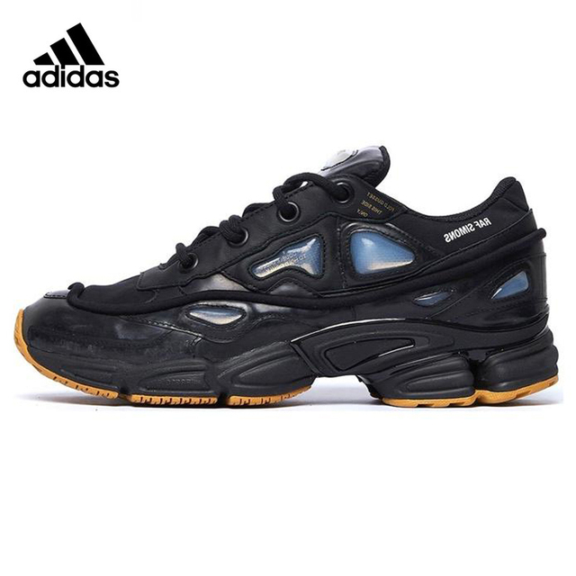 e8a37c75d Adidas X Raf Simons Ozweego Men's Running Shoes, Black, Shock-absorbing  Breathable Non-slip Wear Resistant S81162