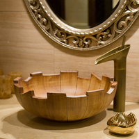 Antique retro art basin wash basin sink washbasin antique above counter basin art basin LO6181157