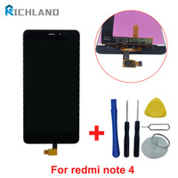 Richland For Xiaomi Redmi Note 4 MTK Helio X20 Snapdragon 625 LCD Display Touch Screen Panel
