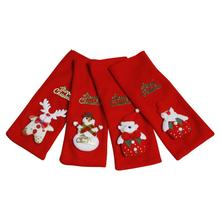Christmas Decorations Wine Bottle Cover Gift Bag Table Red Covers Clothes Inventory clearance