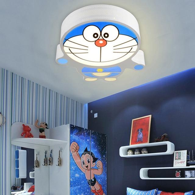 Kualitas Tinggi Doraemon Dipimpin Langit Cahaya Lampu R Tidur Anak Kartun Ruang Tamu Dekorasi