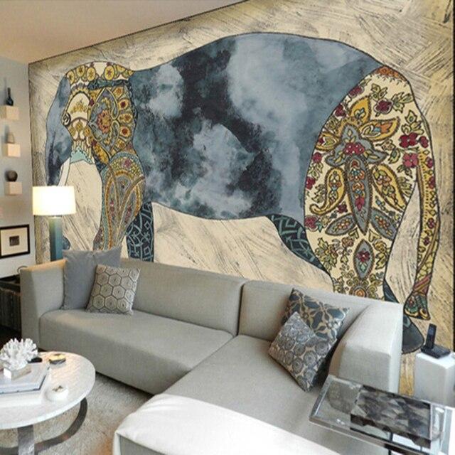 Benutzerdefinierte 3D fototapete großes wandgemälde wohnzimmer sofa ...