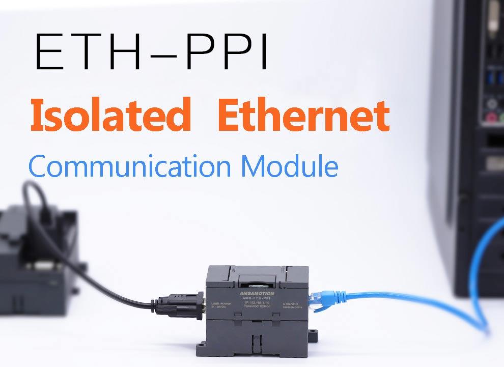 Cp243i ETH-PPI isolado S7-200 ethernet módulo adaptador