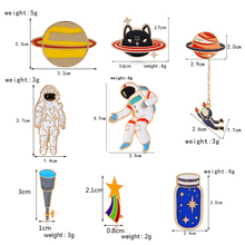 Space Brooch Collection