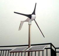 CE,Russia,RoHS approved Grid tie1000W solar wind hybrid system,2x400W wind turbine+200W solar+controller+grid tie inverter !