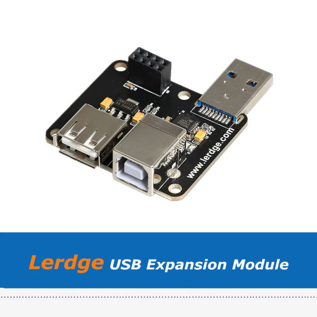 3D Printer Parts Lerdge Board USB Expansion Module For Online Printing