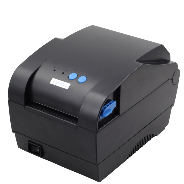 High Speed USB port label printer barcode printer Thermal Sticker Printer Clothing label machine Xprinter XP-365B