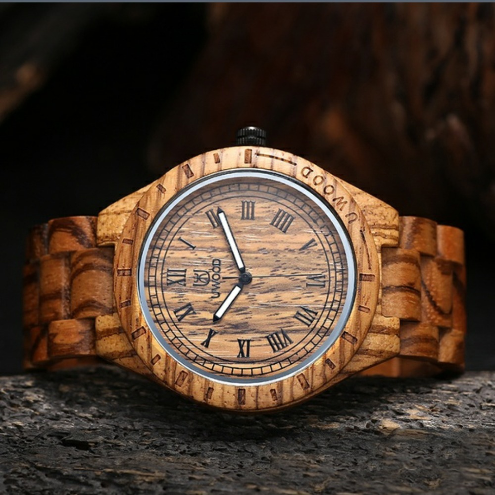 Watch Gift Relojes-Dress Wooden Antique And Fashion Dial Newest Quartz Decoration Great-Accessory